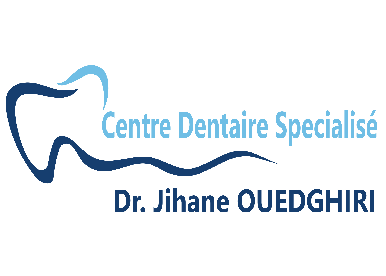 logo cabinet Dr. Jihane OUEDGHIRI